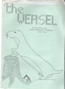 Weasel Cover March 1979