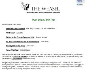 Weasel online 2008