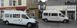 minibus pickups